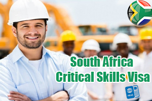 South Africa critical work visa